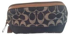 Coach Coach Signature Denim Cosmetic bag. No C0726-40756