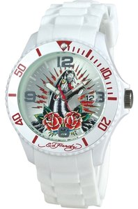 Ed Hardy Ed Hardy Female Matterhorn Panther Watch MH-PR White Analog