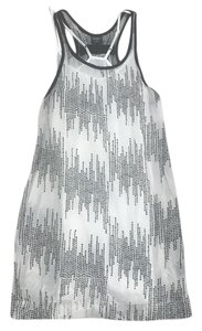 Edun short dress black and white print on Tradesy