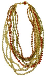 Monet 8 Strand Bead Necklace