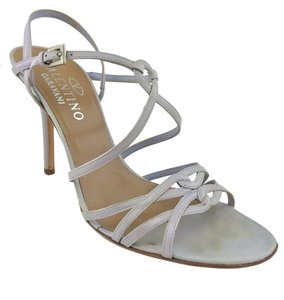 Valentino Stiletto Gray Sandals