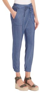 Vince Luxury Staple Essential Summer Vacation Casual Capris