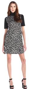 Catherine Malandrino Shift Animal Jacquard Women's Dress
