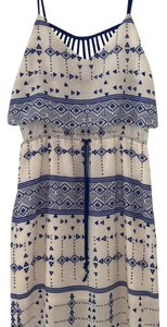 blue and white Maxi Dress by Dolce Vita