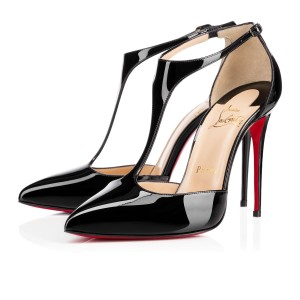 Christian Louboutin Pattent Leather Black Pumps