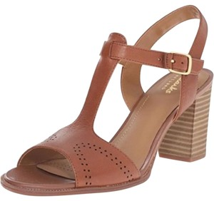 85ee3669c3000 Clarks T-strap Heels Brown Leather Sandals. Clarks Women's Ciera Glass T  Strap Brown Sandals Size US 6.5 Regular ...