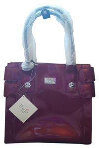 Beijo Satchel in Maroon