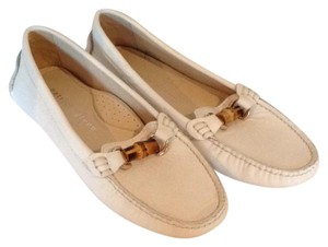 Patricia Green Leather Loafer white Flats