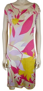 Emilio Pucci Sheath Sleeveless Knit Dress