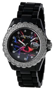 Ed Hardy Ed Hardy Female Dress Watch RX-BK Black Analog
