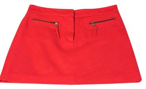 MILLY Mini Skirt neon pink