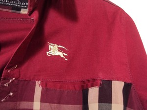 Burberry Shirt Button Down Shirt red, multi