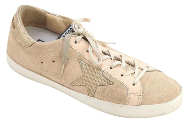 Item - Light Pinky-peach-beige Gold Db Superstar Suede Low-top Metallic Lace 38 Sneakers Size US 8 Regular (M, B)