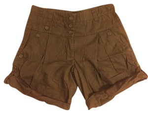 French Connection Cuffed Shorts green, olive