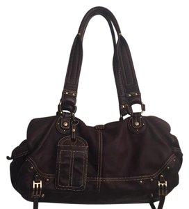 Hayden-Harnett Satchel in Brown