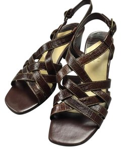 Axcess Brown Snake Sandals