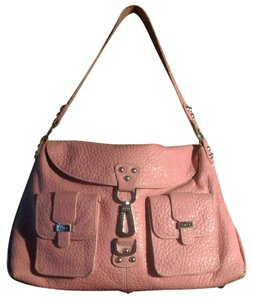 Rafe Leather Coachella Hollywood Nyc Satchel in Coral