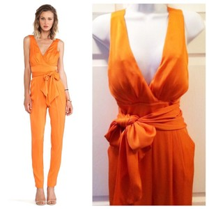 Catherine Malandrino Silk Halter Designer Bow Dress