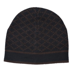 Gucci Black Brown Unisex Multi-color Wool Beanie One Size Hat - Tradesy cc20789ac02