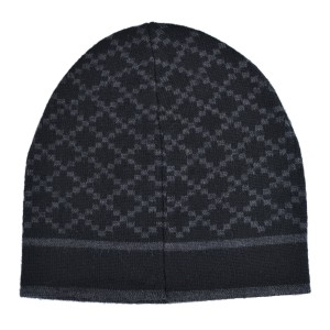 33a64aa77ed00 Gucci Gray Black Unisex Multi-color Wool Beanie One Size Hat - Tradesy