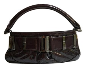 Burberry Patent Leather Quilted Small Shoulder Bag