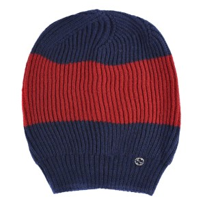 Gucci Blue Red Unisex Multi-color Wool Beanie One Size Hat - Tradesy 1146703725d