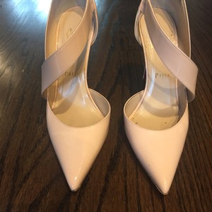 Christian Louboutin Pale Pink Pumps