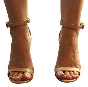Ava & Aiden Strappy Nude Sandals