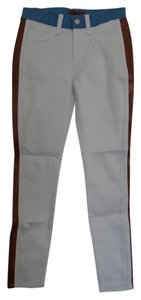 7 For All Mankind Skinny Pants Multi-color