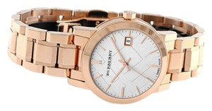 Burberry Burberry Women's BU9104 Heritage Rose Gold Stainless Steel Watch