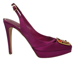 Dior Raspberry Pumps