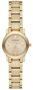Burberry Burberry The City Champagne Dial Gold-tone Ladies Watch BU9227
