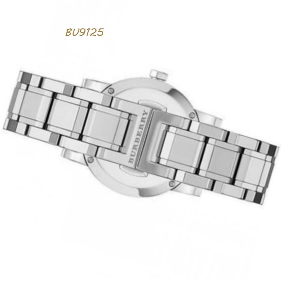 8dd330037ff1 Burberry Burberry Diamond Accent Stainless Steel Ladies Watch BU9125 Image  3. 1234