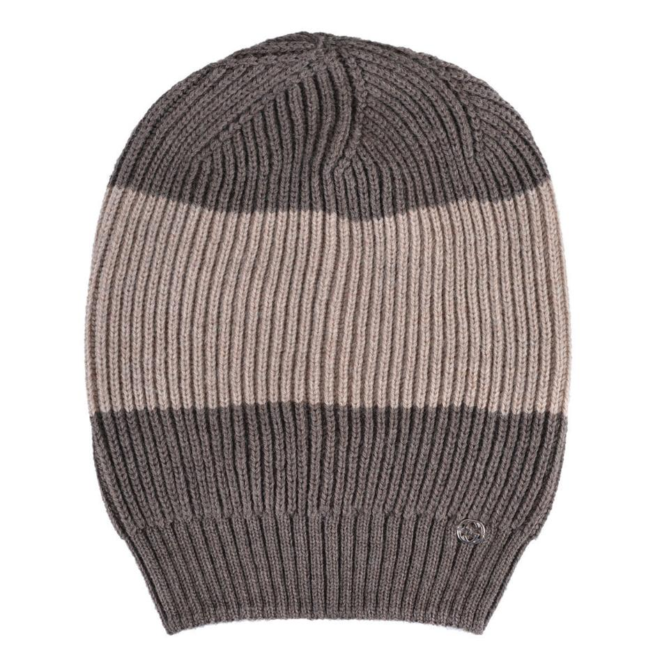 c095beebfea89 Gucci Brown Beige Unisex Multi-color Wool Beanie One Size Hat - Tradesy