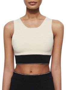 Rag & Bone Cropped Regina Top Fog