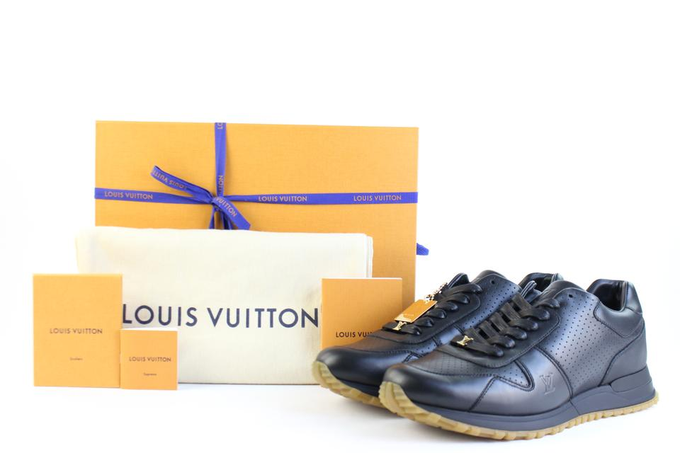 3cb6c6f8f2c4 Louis Vuitton x Supreme Run Away Runaway Black Athletic Image 11.  123456789101112