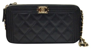 Chanel Lambskin Woc Boy Woc Boy Cross Body Bag