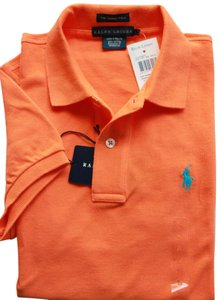 Ralph Lauren Polo T-shirt Women's T Shirt capri orange