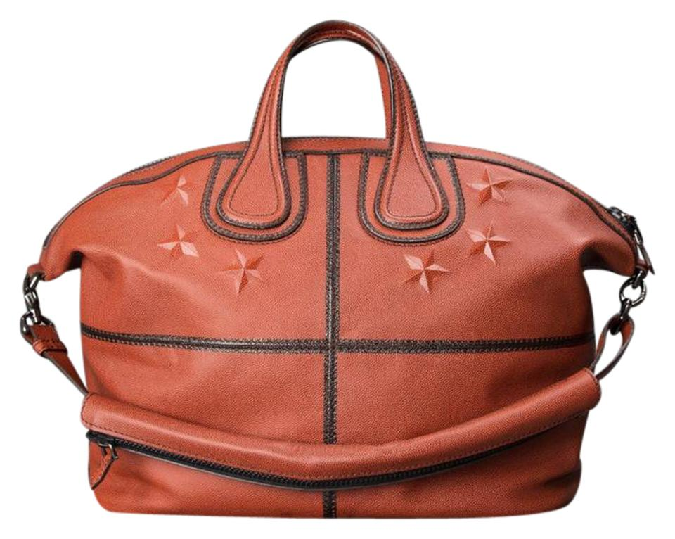 9d41bcff36 Givenchy Men's Nightingale Satchel New With Orange ( Basketball ...