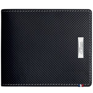 S.T. Dupont S.T. Dupont Defi Perforated Wallet, Leather, Black, RFID Protection
