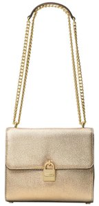 Michael Kors Messenger Crossbody Mercer Pale Gold Messenger Bag