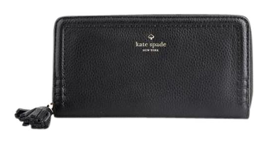 Kate Spade * Kate Spade Lacey Orchard Street Leather Wallet Black Image 0