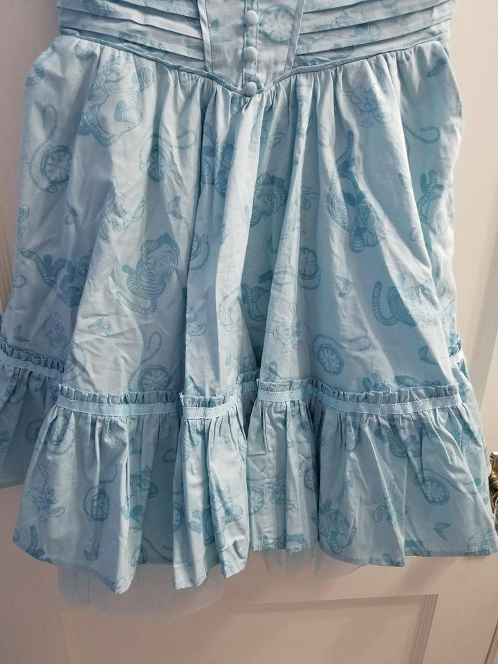 209cb7d3293 Hot Topic short dress Light Blue Alice In Wonderland Looking Glass Tea Party  on Tradesy Image. 123456789101112