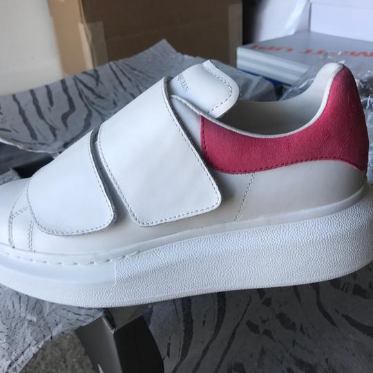 Alexander McQueen white and pink Athletic Image 1