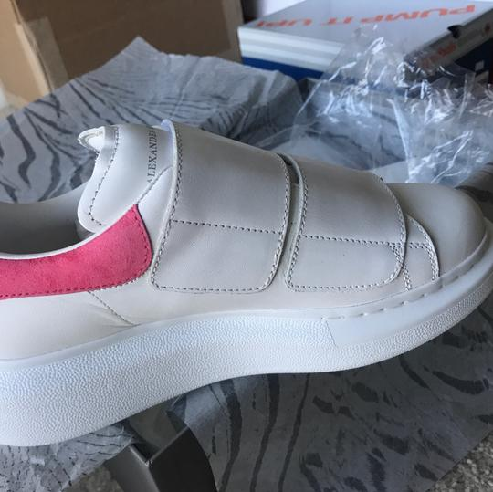 Alexander McQueen white and pink Athletic Image 2