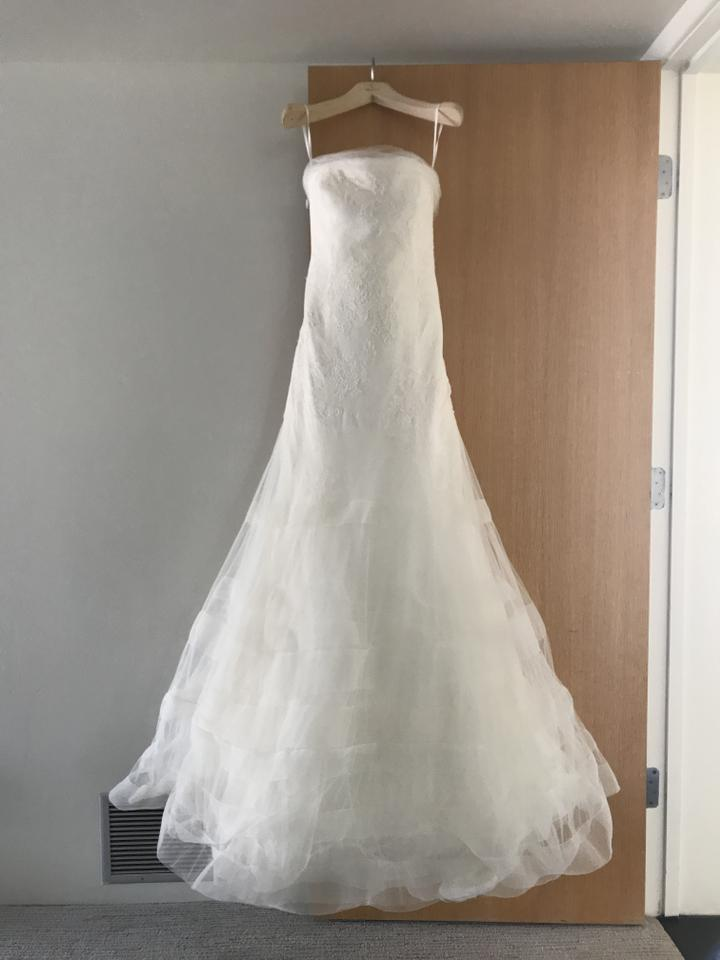 Vera wang bridal vera wang georgina wedding dress on sale for Vera wang wedding dresses sale