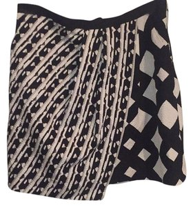 Peter Pilotto for Target Mini Skirt black and white