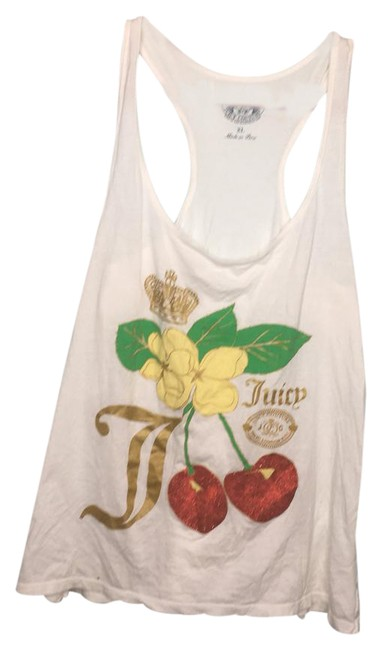 Preload https://img-static.tradesy.com/item/21762749/juicy-couture-white-cherry-tank-topcami-size-14-l-0-1-650-650.jpg