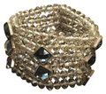 Other Clear Beaded Wide Cuff Image 0