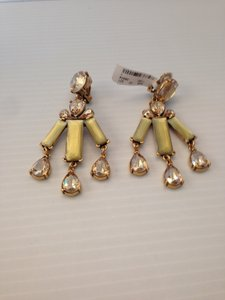 Oscar de la Renta OSCAR DE LA RENTA AUTHENTIC NWT TOPAZ CRYSTAL CHANDELIER EARRINGS